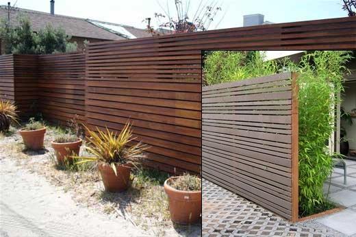 Aneka model pagar dari kayu, sederhana & apik ^_^ | https ...